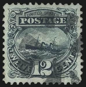 Sale Number 1040, Lot Number 1370, 1869 Pictorial Issue and 1875 Re-Issue (Scott 112-133a)12c Green (117), 12c Green (117)