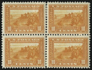 Sale Number 1040, Lot Number 1767, Panama-Pacific Issue (Scott 397-404)1c-10c Panama-Pacific (397-399, 400A), 1c-10c Panama-Pacific (397-399, 400A)