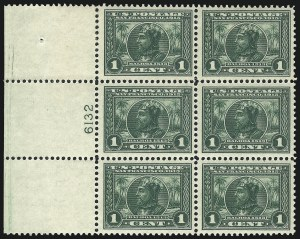 Sale Number 1040, Lot Number 1769, Panama-Pacific Issue (Scott 397-404)1c Panama-Pacific (397), 1c Panama-Pacific (397)
