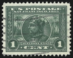 Sale Number 1040, Lot Number 1770, Panama-Pacific Issue (Scott 397-404)1c Panama-Pacific (397), 1c Panama-Pacific (397)