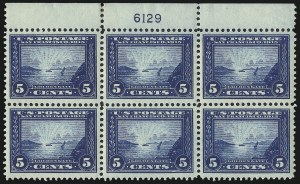 Sale Number 1040, Lot Number 1771, Panama-Pacific Issue (Scott 397-404)5c Panama-Pacific (399), 5c Panama-Pacific (399)