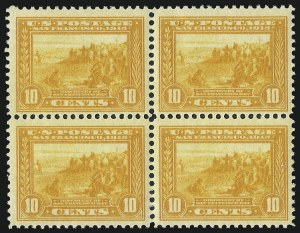 Sale Number 1040, Lot Number 1774, Panama-Pacific Issue (Scott 397-404)10c Orange Yellow, Panama-Pacific (400), 10c Orange Yellow, Panama-Pacific (400)