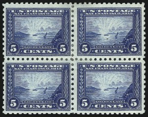 Sale Number 1040, Lot Number 1776, Panama-Pacific Issue (Scott 397-404)1c-5c Panama-Pacific, Perf 10 (401-403), 1c-5c Panama-Pacific, Perf 10 (401-403)