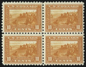Sale Number 1040, Lot Number 1780, Panama-Pacific Issue (Scott 397-404)10c Panama-Pacific, Perf 10 (404), 10c Panama-Pacific, Perf 10 (404)
