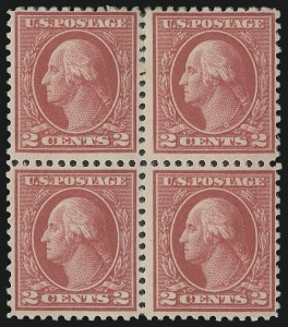 Sale Number 1040, Lot Number 1889, 1917-18 Issues (Scott 498-524)2c Deep Rose, Ty. Ia (500), 2c Deep Rose, Ty. Ia (500)