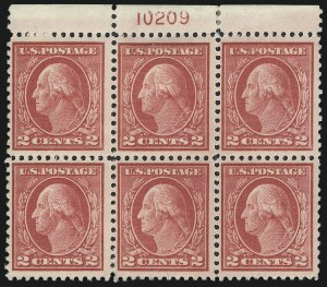 Sale Number 1040, Lot Number 1890, 1917-18 Issues (Scott 498-524)2c Deep Rose, Ty. Ia (500), 2c Deep Rose, Ty. Ia (500)