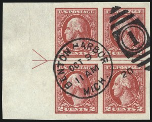 Sale Number 1040, Lot Number 1934, 1918-22 Issues (Scott 525-547a)2c Carmine, Ty. V, Imperforate (533), 2c Carmine, Ty. V, Imperforate (533)