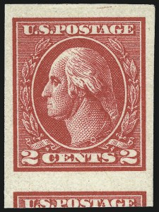 Sale Number 1040, Lot Number 1935, 1918-22 Issues (Scott 525-547a)2c Carmine, Ty. VII, Imperforate (534B), 2c Carmine, Ty. VII, Imperforate (534B)
