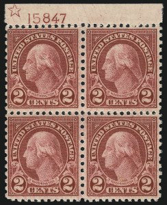 Sale Number 1040, Lot Number 1994, 1923-33 Issues (Scott 577-734a)2c Carmine, Rotary (579), 2c Carmine, Rotary (579)