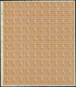 Sale Number 1040, Lot Number 1996, 1923-33 Issues (Scott 577-734a)6c Red Orange, Perf 10 (587), 6c Red Orange, Perf 10 (587)