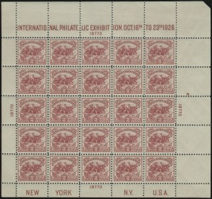 Sale Number 1040, Lot Number 2008, 1923-33 Issues (Scott 577-734a)2c White Plains Souvenir Sheet (630), 2c White Plains Souvenir Sheet (630)