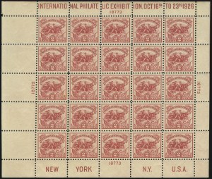 Sale Number 1040, Lot Number 2009, 1923-33 Issues (Scott 577-734a)2c White Plains Souvenir Sheet (630), 2c White Plains Souvenir Sheet (630)