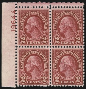 Sale Number 1040, Lot Number 2017, 1923-33 Issues (Scott 577-734a)2c Carmine, Ty. II (634A), 2c Carmine, Ty. II (634A)