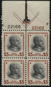 Sale Number 1040, Lot Number 2050, 1934 and Later Issues$5.00 Presidential (834), $5.00 Presidential (834)