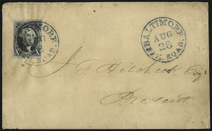 Sale Number 1041, Lot Number 213, Railroad Route Agents10c Black (2), 10c Black (2)