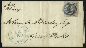Sale Number 1041, Lot Number 216, Railroad Route Agents5c Red Brown (1), 5c Red Brown (1)