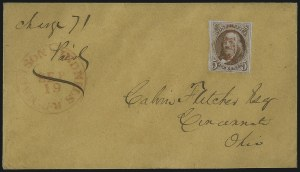 Sale Number 1041, Lot Number 221, Railroad Route Agents5c Orange Brown (1b), 5c Orange Brown (1b)