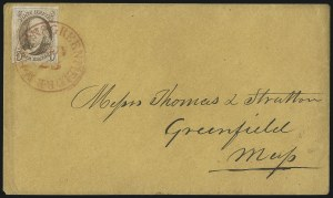 Sale Number 1041, Lot Number 224, Railroad Route Agents5c Red Brown (1), 5c Red Brown (1)