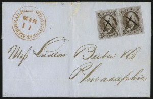 Sale Number 1041, Lot Number 228, Railroad Route Agents5c Red Brown (1), 5c Red Brown (1)