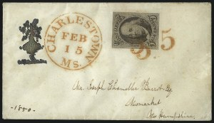 Sale Number 1041, Lot Number 270, Advertising Covers and Valentines5c Brown (1), 5c Brown (1)