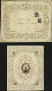 Sale Number 1041, Lot Number 275, Advertising Covers and Valentines10c Black (2), 10c Black (2)