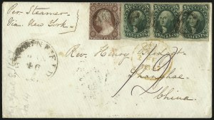 Sale Number 1041, Lot Number 364, Foreign Mails10c Green, Ty. II (14), 10c Green, Ty. II (14)