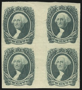 Sale Number 1043, Lot Number 2261, 20c Engraved, 1c Typograph (Scott 13-14) and Group Lots20c Green (13), 20c Green (13)