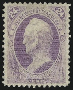 Sale Number 1044, Lot Number 139, 1870-73 Bank Note Issues (Scott 145-179)24c Purple (153), 24c Purple (153)