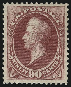 Sale Number 1044, Lot Number 141, 1870-73 Bank Note Issues (Scott 145-179)90c Carmine (155), 90c Carmine (155)