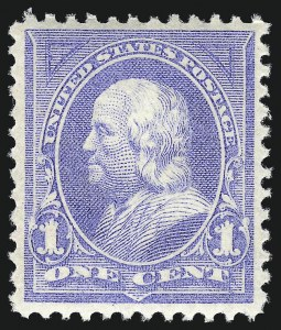 Sale Number 1044, Lot Number 199, 1894-98 Bureau Issues (Scott 246-284)1c Ultramarine (246), 1c Ultramarine (246)