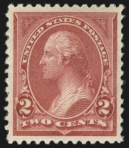 Sale Number 1044, Lot Number 200, 1894-98 Bureau Issues (Scott 246-284)2c Carmine Lake, Ty. I (249), 2c Carmine Lake, Ty. I (249)