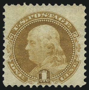 Sale Number 1048, Lot Number 278, 1869 Issue incl. Inverts, 1875 Re-Issue1c Buff, Without Grill (112b), 1c Buff, Without Grill (112b)