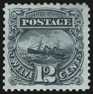 Sale Number 1048, Lot Number 294, 1869 Issue incl. Inverts, 1875 Re-Issue12c Green, Re-Issue (128), 12c Green, Re-Issue (128)