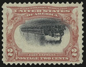 Sale Number 1048, Lot Number 340, 1901 Pan-American Issue2c Pan-American, Center Inverted (295a), 2c Pan-American, Center Inverted (295a)