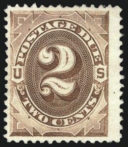 Sale Number 1048, Lot Number 382, Air Post thru Offices in China2c Deep Brown, Special Printing (J9), 2c Deep Brown, Special Printing (J9)