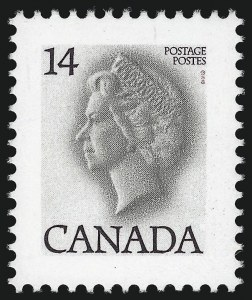 Sale Number 1049, Lot Number 1092, Canada CANADA, 1978, 14c Red & Black, Red Omitted (716c), CANADA, 1978, 14c Red & Black, Red Omitted (716c)