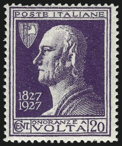 Sale Number 1049, Lot Number 1738, Corfu thru CzechoslovakiaCYRENAICA, 1927, 20c Purple, Overprint Omitted (25a; Sassone Italy 210A), CYRENAICA, 1927, 20c Purple, Overprint Omitted (25a; Sassone Italy 210A)