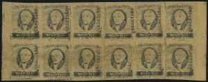 "Sale Number 1049, Lot Number 1992, Mexico MEXICO, 1861, -1/2r Black on Buff, ""Queretaro"" Ovpt. (6), MEXICO, 1861, -1/2r Black on Buff, ""Queretaro"" Ovpt. (6)"