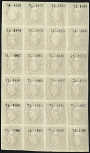 "Sale Number 1049, Lot Number 1993, Mexico MEXICO, 1866, 7c Lilac Gray, San Luis Potosi, Without District and ""74. 1866"" Ovpt. (26), MEXICO, 1866, 7c Lilac Gray, San Luis Potosi, Without District and ""74. 1866"" Ovpt. (26)"