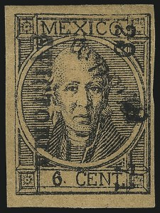 "Sale Number 1049, Lot Number 1994, Mexico MEXICO, 1872, 6c Black on Buff, ""C. Victoria"" and ""29 71"" Ovpt. (71), MEXICO, 1872, 6c Black on Buff, ""C. Victoria"" and ""29 71"" Ovpt. (71)"