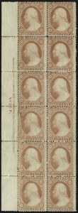 Sale Number 1050, Lot Number 141, 1c-3c 1857-60 Issue (Scott 18-26A)3c Dull Red, Ty. III (26), 3c Dull Red, Ty. III (26)