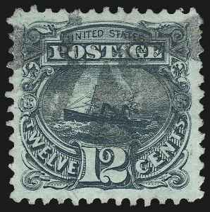 Sale Number 1050, Lot Number 241, 1869 Pictorial Issue (Scott 112-122)12c Green (117), 12c Green (117)