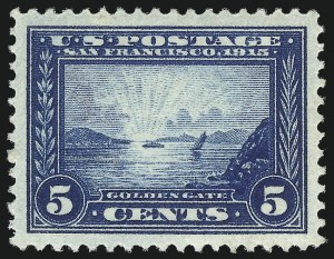 Sale Number 1050, Lot Number 526, Panama-Pacific thru 1914 Issue (Scott 396-447)5c Panama-Pacific (399), 5c Panama-Pacific (399)