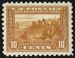 Sale Number 1050, Lot Number 535, Panama-Pacific thru 1914 Issue (Scott 396-447)10c Panama-Pacific, Perf 10 (404), 10c Panama-Pacific, Perf 10 (404)