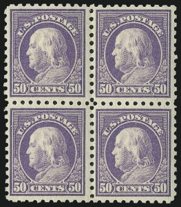 Sale Number 1050, Lot Number 559, Panama-Pacific thru 1914 Issue (Scott 396-447)50c Violet (440), 50c Violet (440)
