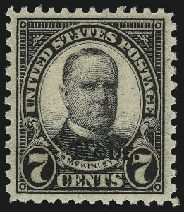 Sale Number 1050, Lot Number 677, 1922-26 and Later Issues (Scott 555-1687)7c Nebr. Ovpt. (676), 7c Nebr. Ovpt. (676)