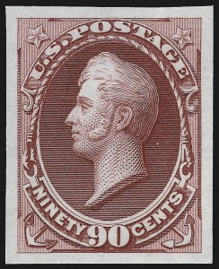 Sale Number 1053, Lot Number 168, 1869 Pictorial Issue thru Bank Note Issues1c-90c National Bank Note Co., Plate Proofs on India or Card (145P3-155P3), 1c-90c National Bank Note Co., Plate Proofs on India or Card (145P3-155P3)