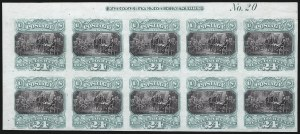 Sale Number 1054, Lot Number 394, Plate Proofs on India and Card incl. Invert Blocks24c Green & Violet, Plate Proof on India (120P3), 24c Green & Violet, Plate Proof on India (120P3)