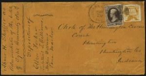 Sale Number 1054, Lot Number 624, Domestic Mail: 6c-24c10c Yellow (116), 10c Yellow (116)