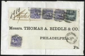 Sale Number 1054, Lot Number 628, Domestic Mail: 6c-24c12c Green (117), 12c Green (117)